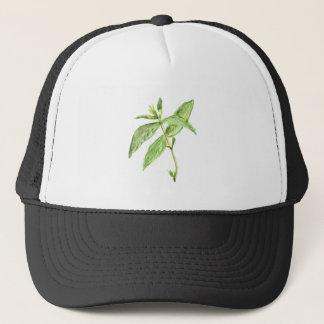 Mint herb trucker hat