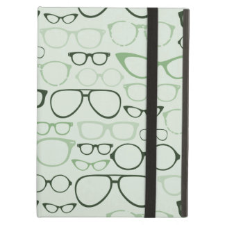Mint Hipster Glasses Case For iPad Air