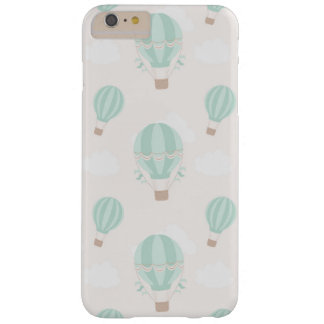 Mint Hot Air Balloon iPhone Case
