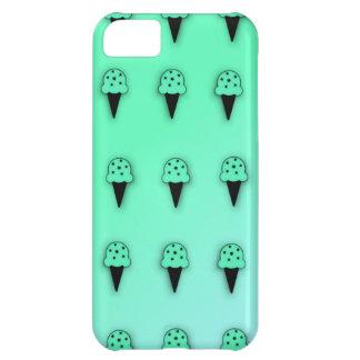 Mint Ice Cream Cones (Star Chips) iPhone 5C Case