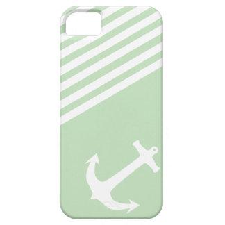 Mint Ice Cream Green Nautical iPhone 5 Cases