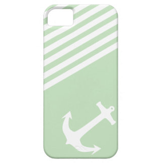 Mint Ice Cream Green Nautical iPhone 5 Cover