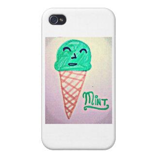 Mint Ice Cream iPhone 4/4S Cover