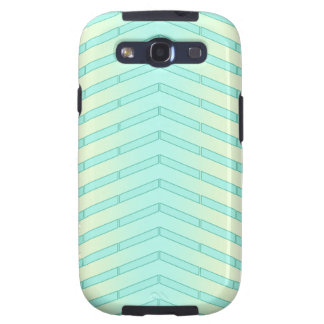 Mint Lime Tire Track Galaxy S3 Case