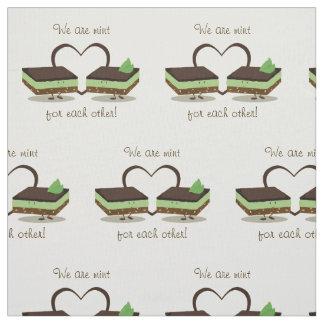 Mint Love Nanaimo Bars | Fabric