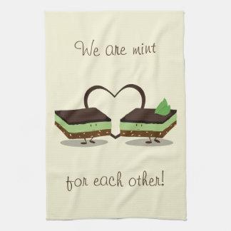 Mint Love Nanaimo Bars   Kitchen Towel