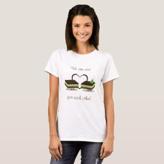 Mint Love Nanaimo Bars | Womens T-shirt