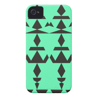 Mint Minimal Tribal Case-Mate iPhone 4 Case