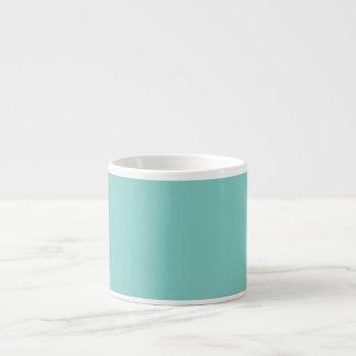 Mint Mint Green Solid Color Espresso Mug