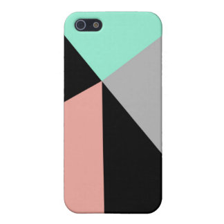 Mint & Peach iPhone 5 Case