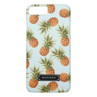 Mint Pineapple Personalized iPhone 8 Plus/7 Plus Case