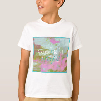 Mint pint colorful oil abstract gentle kind T-Shirt