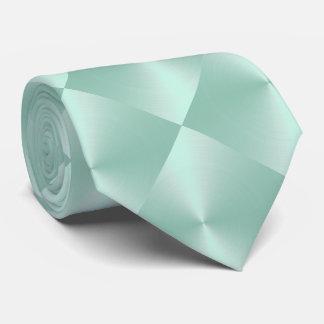 Mint Shimmer Blocks Tie