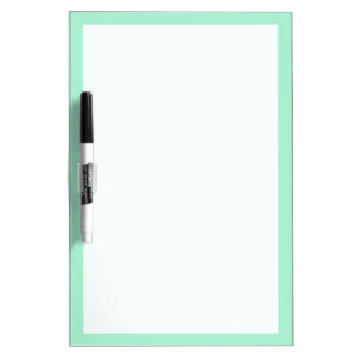 Mint Solid Color Dry Erase Board