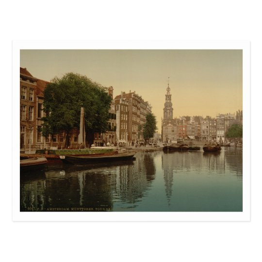 Mint Tower, Amsterdam, Netherlands Postcard