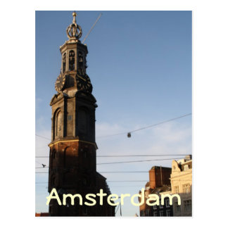 Mint tower Amsterdam Post Card