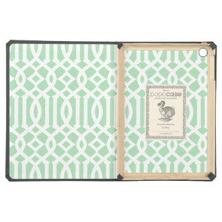 Mint Trellis   iPad Dodo Case iPad Air Cover