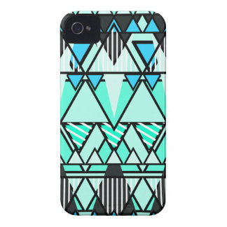 Mint Tribal Case-Mate iPhone 4 Cases