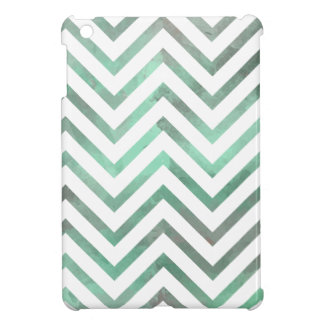 Mint White Chevron iPad Mini Covers