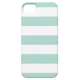 Mint Wide Stripes Case For The iPhone 5