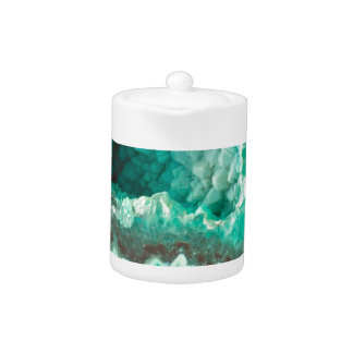 Minty Geode Crystals