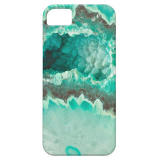 Minty Geode Crystals Case For The iPhone 5