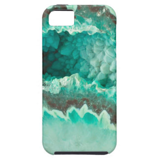 Minty Geode Crystals Tough iPhone 5 Case