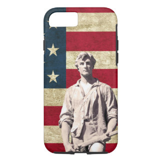 Minuteman Patriotic Flag iPhone 8/7 Case