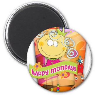 mippy 6 cm round magnet