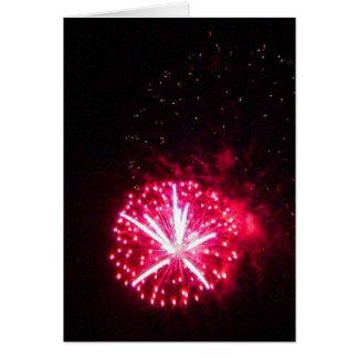 Mira Mesa Fireworks Greeting Card
