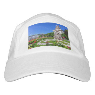Mirabell palace and gardens, Salzburg, Austria Hat
