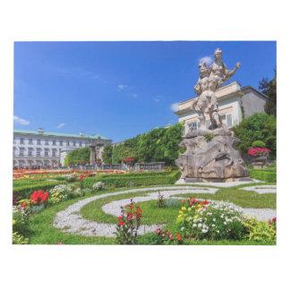Mirabell palace and gardens, Salzburg, Austria Notepad