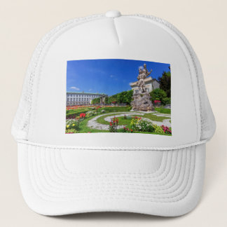 Mirabell palace and gardens, Salzburg, Austria Trucker Hat