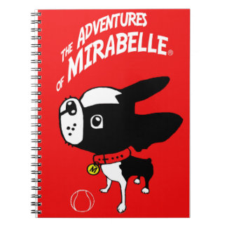 Mirabelle the boston terrier notebook