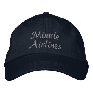 Miracle Airlines Embroidered Hats