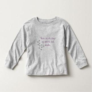 Miracle and Wonder l/s Toddler shirt