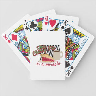 Miracle Cherry Pie Bicycle Playing Cards