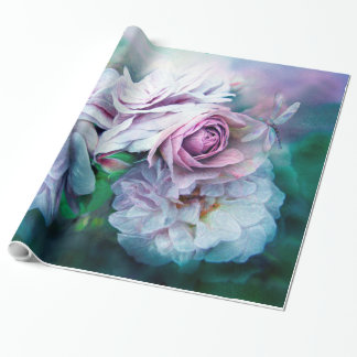 Miracle Of A Rose - Lavender Art Gift Wrap