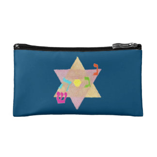 Miracle of Hanukkah Double-Sided Accessory Bag