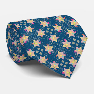 Miracle of Hanukkah Patterned Necktie