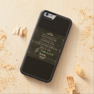Miracle of Love Maple iPhone 6 Bumper Case
