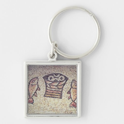 Miracle of the Bread and the Fishes Key Chain