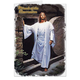 Miracle of the Resurrection Card