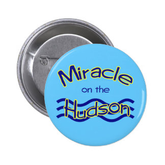 Miracle on the Hudson Button
