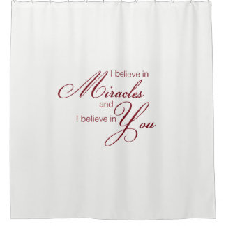 Miracle shower curtain