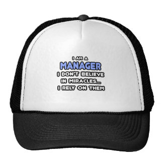 Miracles and Managers Mesh Hat