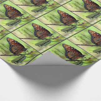 Miracles Happen Every Day (Butterfly / caterpillar Wrapping Paper