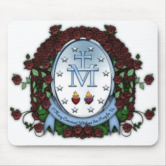 Miraculous Medal 2 Mouse Pads