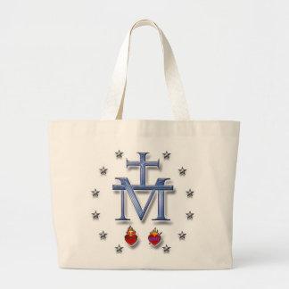 Miraculous Medal Jumbo Tote Bag