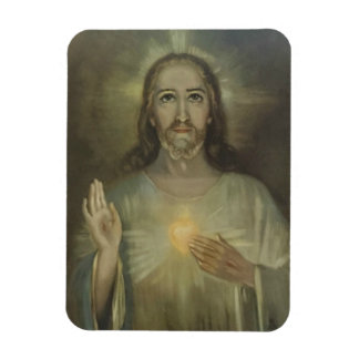 Miraculous Sacred Heart of Jesus Car/Refrigerator Magnet